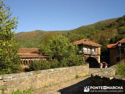 Ruta de senderismo --- Parque Natural Saja-Besaya; la acebeda; cercedilla rutas